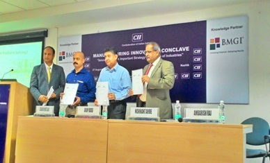 BMGI presents its Innovation perspective on Product cost at CII Manufacturing Innovation Conclave