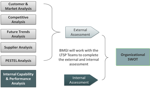 BMGI's structure Defining framework of strategy includes