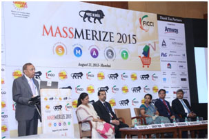 BMGI paticipates at FICCI's Massmerize 2015 – India's biggest  Retail and FMCG Conference
