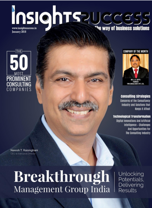 BMGI India Among the 50 Most Prominent Consulting Companies
