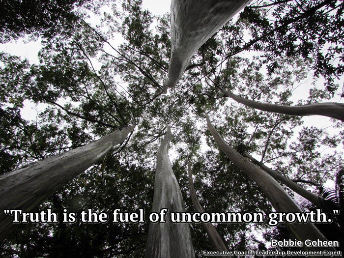 Truth is the fuel of uncommon growth