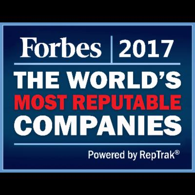 The World's Most Reputable Companies In 2017
