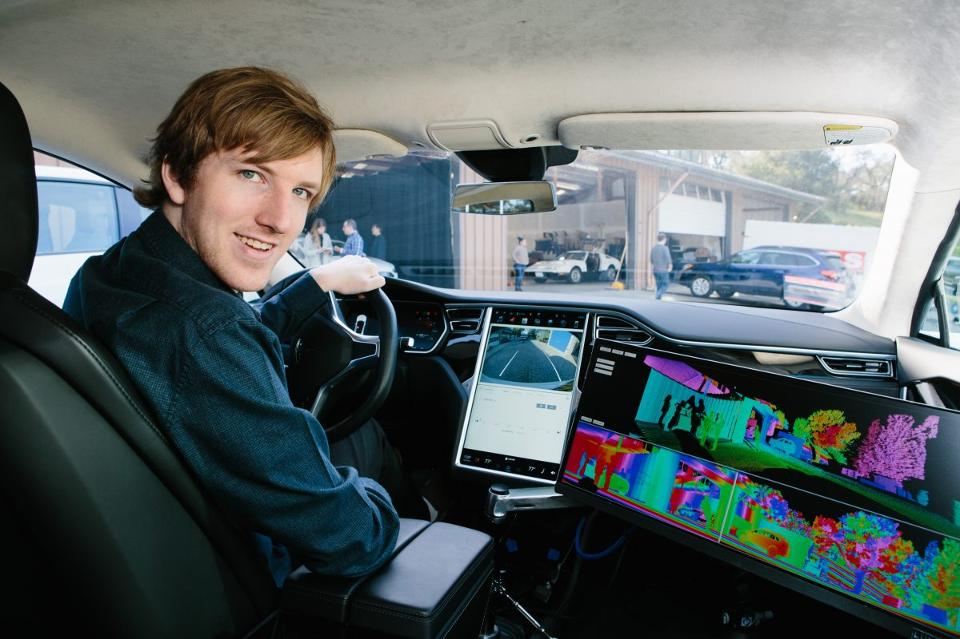 A 22-Year-Old CEO Has A Vision For Making Self-Driving Cars A Reality