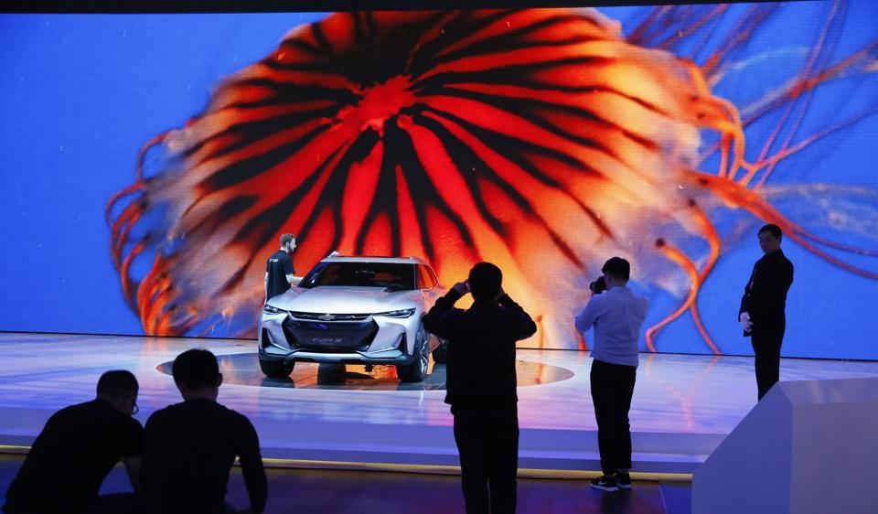 Shanghai Auto Show: Focus on electrics, SUVs in world's largest auto market
