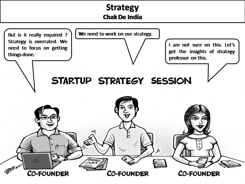 Learning strategy from Chak De India for startups