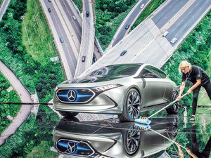 'Electric is the future' for German car majors with 50 billion euros investments