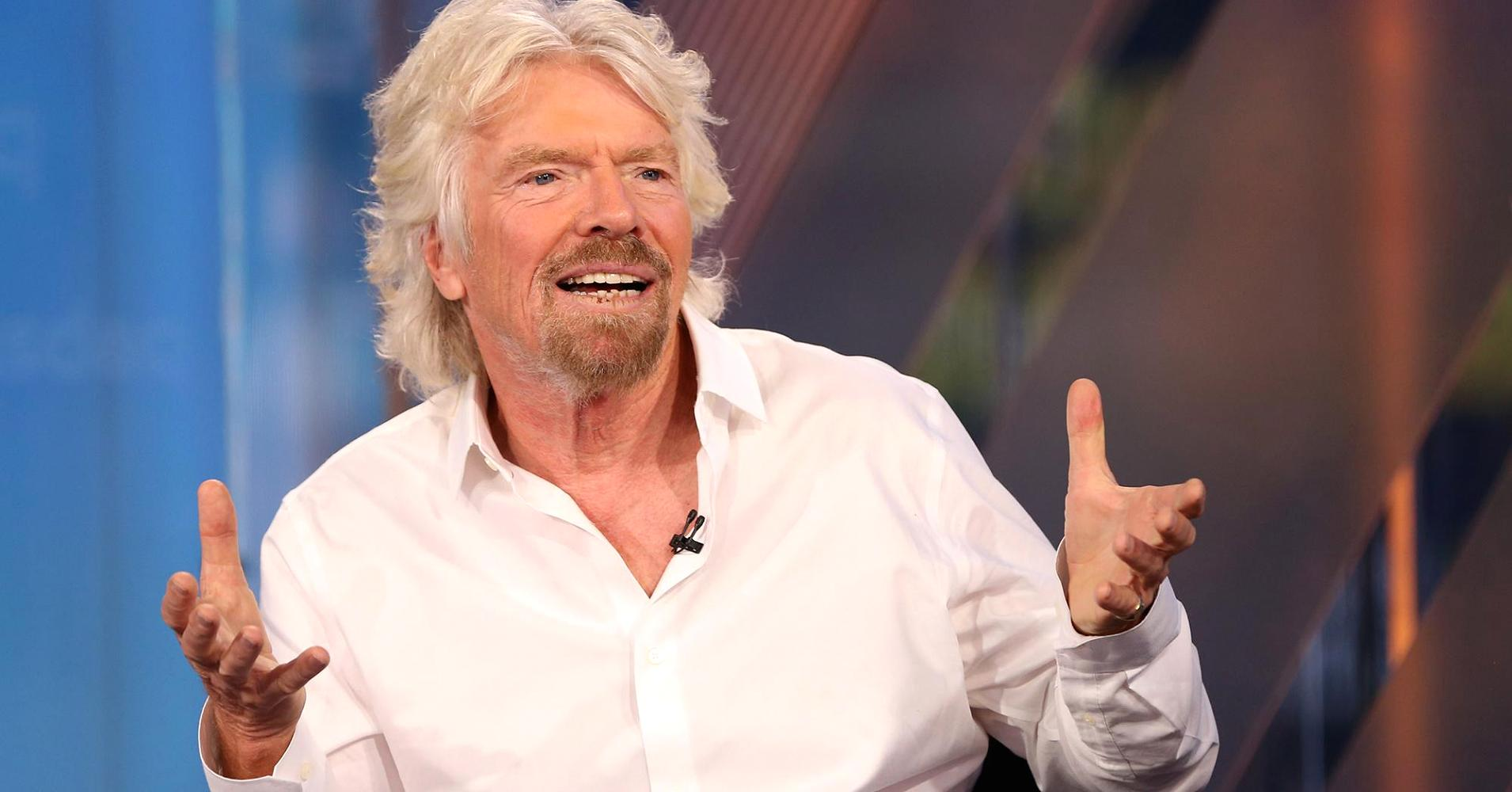 Billionaire Richard Branson: This simple trick is the best way to come up with an idea for a successful business