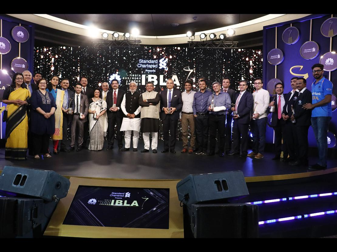 The CNBC-TV18 India Business Leader Awards honoured the visionaries behind outstanding businesses