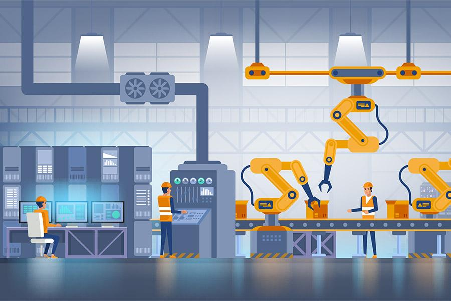 The business value of enabling IoT in industrial manufacturing